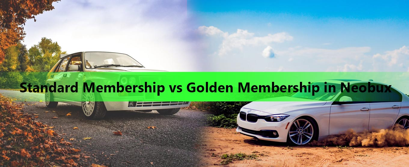 Standard Membership vs Golden Membership in Neobux